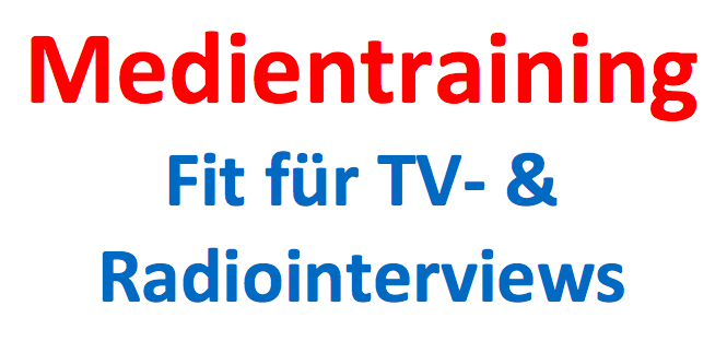 Medientraining: Angebot